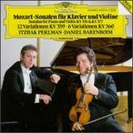 Mozart: Sonatas for Piano and Violin, KV 376 & KV 377; 12 Variations, KV 359; 6 Variations, KV 360