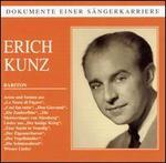 """Dokumente einer S""""ngerkarriere: Eric Kunz"""