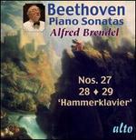 Beethoven: Piano Sonatas Nos. 27-29
