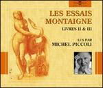 Les  Essais Montaigne, Livres II & III