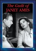 GUILT OF JANET AMES