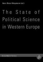 State of Political Science in Western Europe