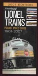Greenberg's Guides Lionel Trains Pocket Price Guide 1901-2007