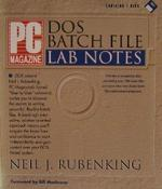 PC Magazine DOS Batch File Lab Notes/Book and Disk