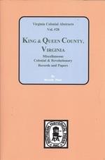 King & Queen County, Va., Records