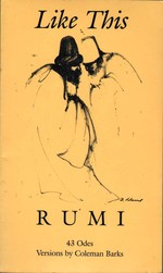 Like This:  Rumi; Versions By Coleman Barks