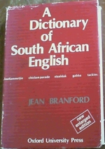 A Dictionary of South African English