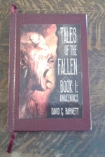 Tales of the Fallen Book I:  Awakenings (Signed Limited Edition) D of 26 Copies Signed Lettered Edition