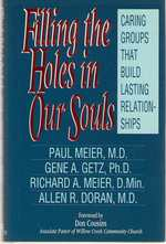 Filling the Holes in Our Souls