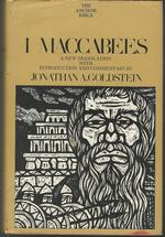 I Maccabees (the Anchor Bible Series, Volume 41)
