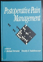 Postoperative Pain Management