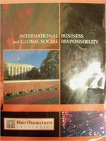 International Business and Global Social Responsibility