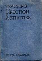 Teaching as the direction of activities
