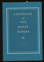 Calendar of the Rosse Papers