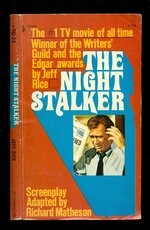 The Night Stalker-the #1 Tv Movie of Alltme-Winner of the Writers' Guild and the Edgar Awards