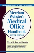 Merriam-Webster Medical Office Handbook, 2e