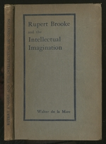 Rupert Brooke and the Intellectual Imagination