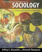 A Contemporary Introduction to Sociology:  Culture and Society in Transition (the Yale Cultural Sociology Series)